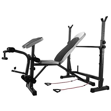 workout bench with leg extension bestequip multi station weight bench adjustable workout