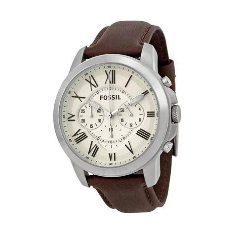 Jam Tangan Fossil Fs 4735 jual fossil fs4735 jam tangan pria brown harga