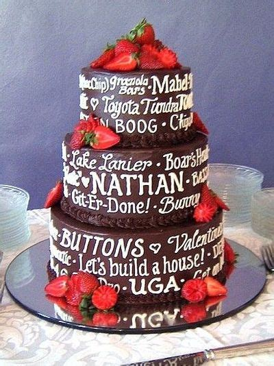 Wedding Cake Writing by What A Cool Grooms Cake Writing All Of His Favorite
