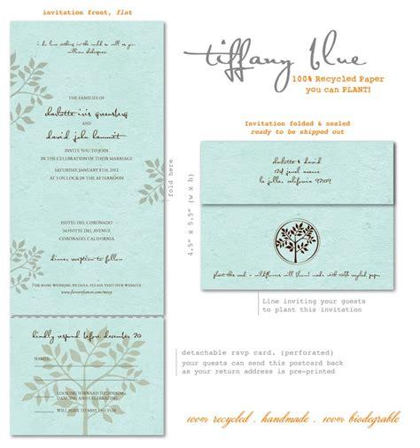 Tiffiny Blue Wedding Invitation Paper by Blue Wedding Invitations Shalom Seeded Paper