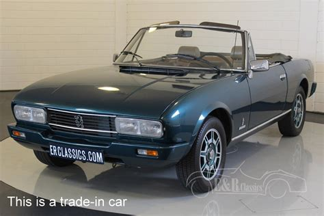 peugeot cars 1980 peugeot 504 cabriolet 1980 for sale at erclassics
