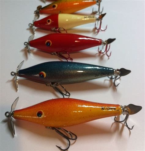 Handmade Bass Lures - 1000 images about fishing tackle on vintage