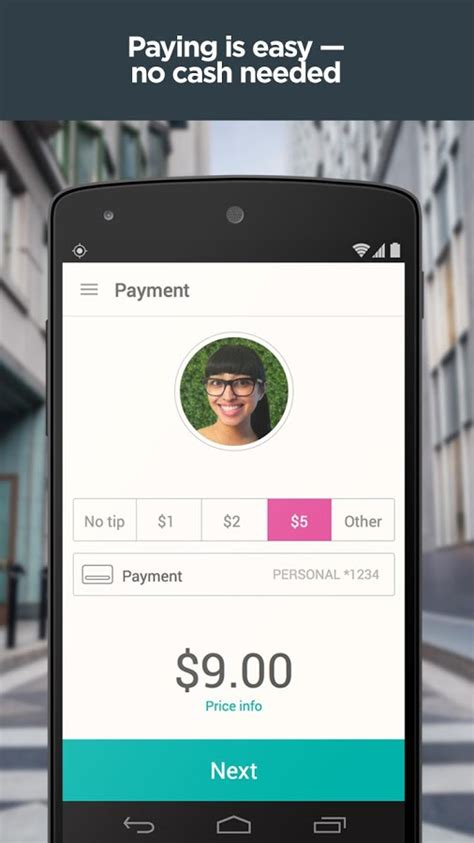 lyft android lyft update lets you a payment method for each ride