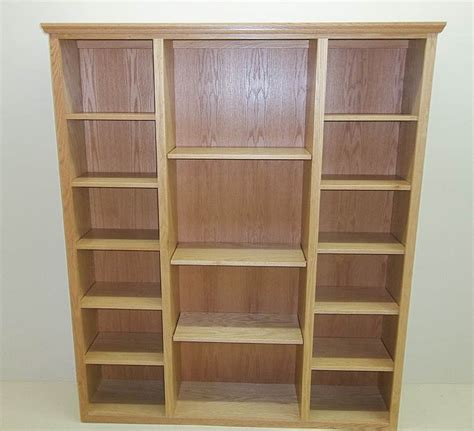 custom wood bookshelves custom handcrafted solid wood bookcases healthycabinetmakers solid oak bookcase home vid