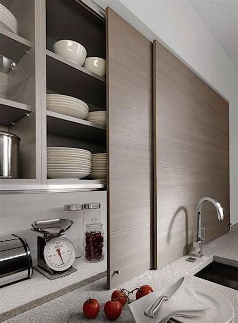 sliding kitchen cabinet doors 15 storage ideas to steal from high end kitchen systems