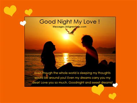 good night message for someone special for him goodnight messages 365greetings