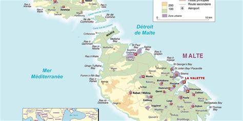 0004490487 carte touristique malta and carte de malte 187 vacances arts guides voyages
