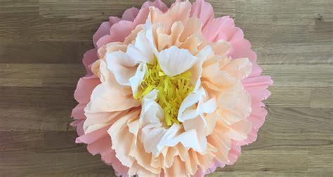 fiori carta crespa bambini fiori grandi di carta crespa tutorial