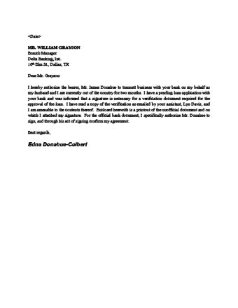 authorization letter format for tender opening sle authorization letter to open bank account
