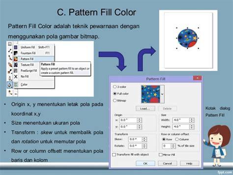 Pattern Fill Adalah | pembuatan grafis berbasis vektor