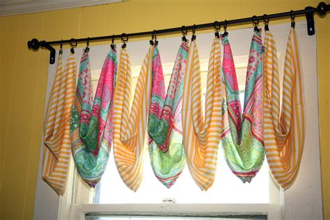 curtain scarf hanging ideas vip home curtain fest part two cute creative diyed