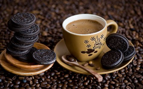 And Coffee coffee and cookies hd wallpapers