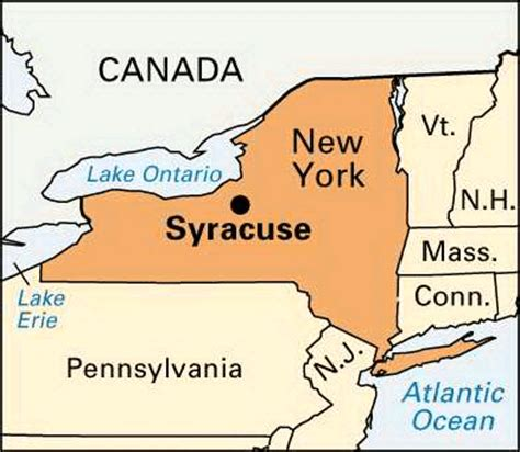 syracuse map syracuse location encyclopedia children s homework help dictionary