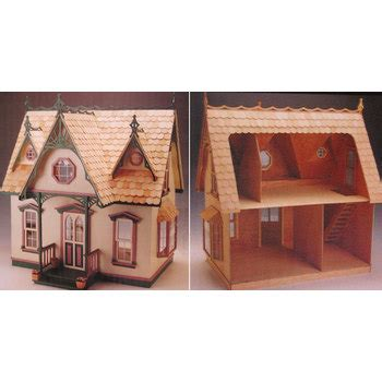 wood doll house kit orchid all wood dollhouse kit hobby lobby 751073