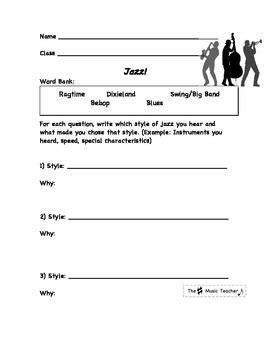 printable music lesson plans jazz and blues all worksheets 187 jazz history worksheets printable
