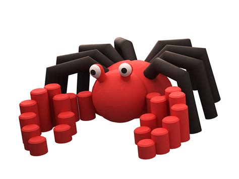 crab rubber st crab 3d animal abacus playgrounds
