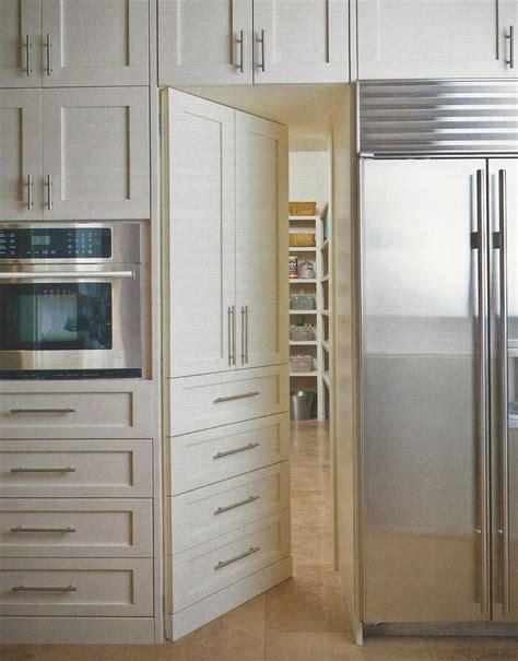 door  pantry hidden  cabinetry heart   home