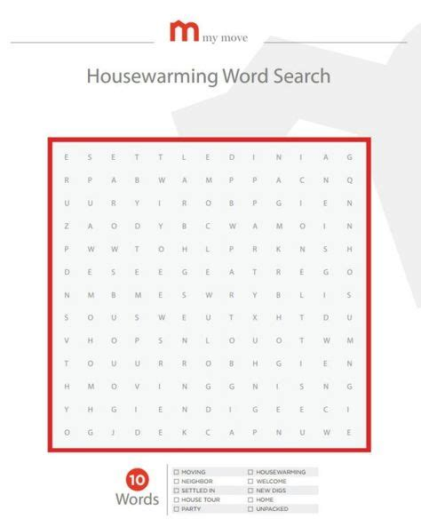 printable housewarming bingo cards 6 best images of printable housewarming games word bingo
