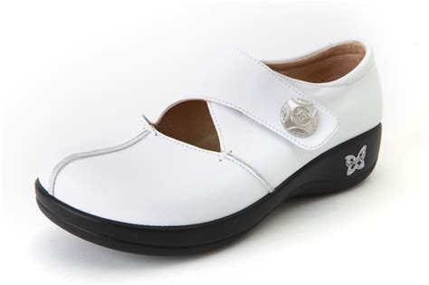 alegria kaitlyn professional white leather free shipping
