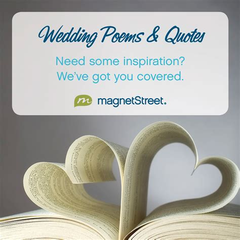 Wedding Album Poem by Wedding Poems Quotes Magnetstreet Weddings