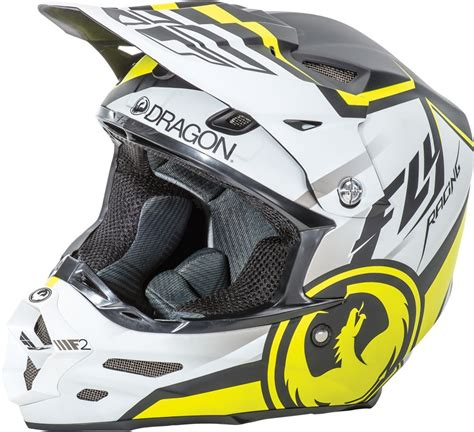 fly motocross helmets fly racing f2 carbon dragon mens motocross helmets