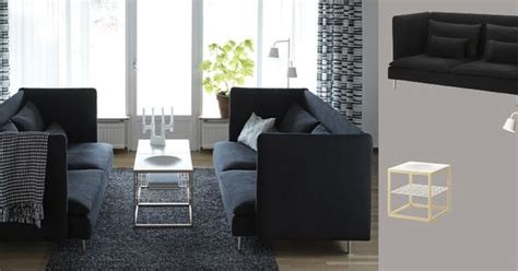 Ps 2012 Sofa by S 214 Derhamn Three Seat Sofa With Repl 246 Sa Black Cover