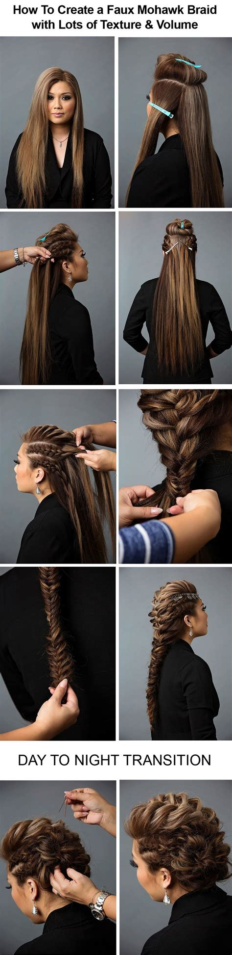 love knots hairstyle 25 best faux mohawk ideas on pinterest faux hawk