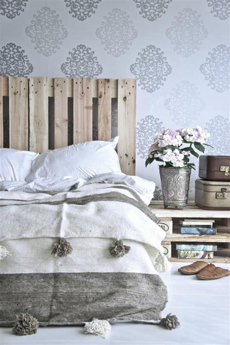 Kopfteil Bett Europalette by 66 Schlafzimmergestaltung Ideen F 252 R Ihren Gesunden Schlaf