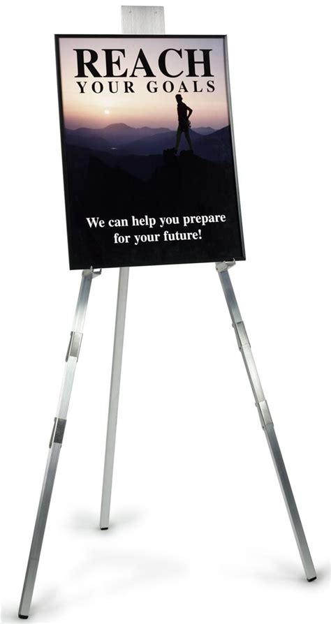 Tripod Poster these durable display easels are rugged yet look in every environment peruse the whole