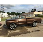 1967 Chevy C 10 Long Bed Root Beer Brown Good Condition Remodeled