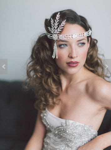 gatsby accessories for curly hair the great gatsby headband flapper headband roaring 20 s