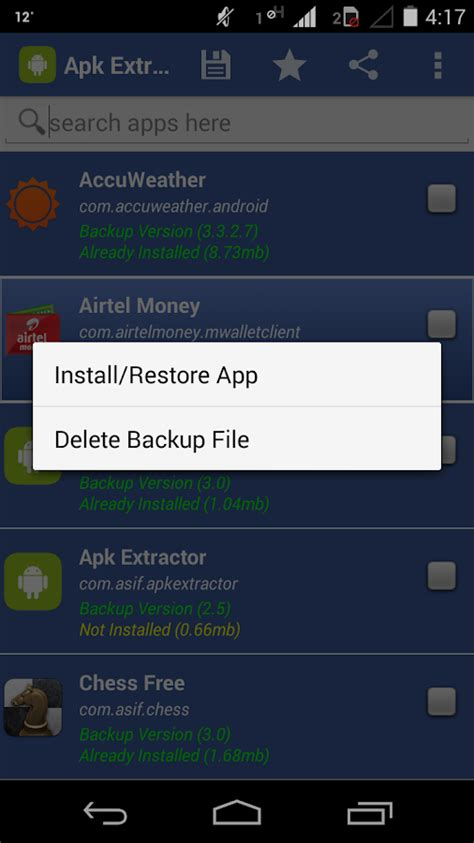 backup apk apk extractor app backup android apps on play