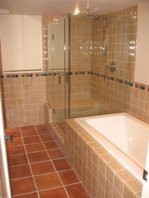 saltillo tile bathroom flooring westside tile and stone