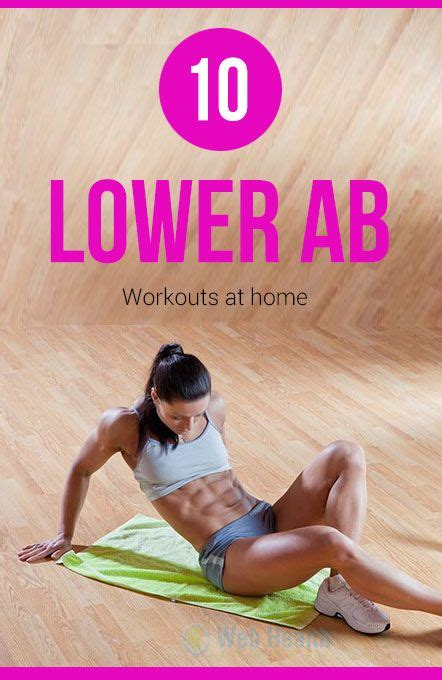 10 best lower ab workouts at home exercise and