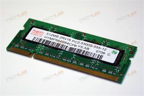 Ddr2 512mb Pc5300 hynix 512mb so ddr2 pc5300 hymp564s64cp6 y5