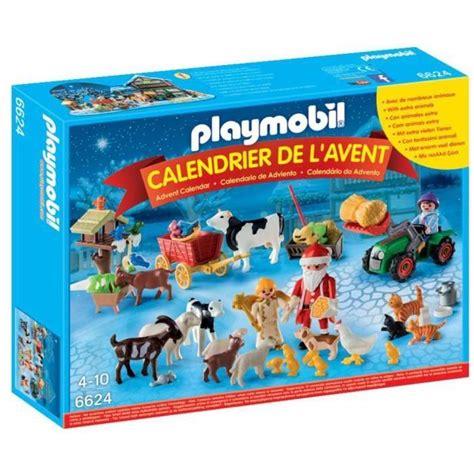 Calendrier De L Avent Playmobil Pere Noel Playmobil 6624 Calendrier De L Avent Quot P 232 Re No 235 L 224 La Ferme