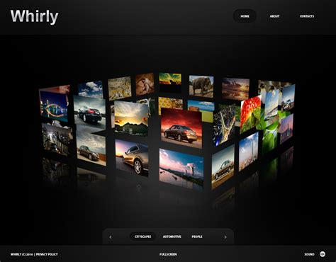 Photographer Portfolio Flash Cms Template 30005 Photography Portfolio Website Templates Free