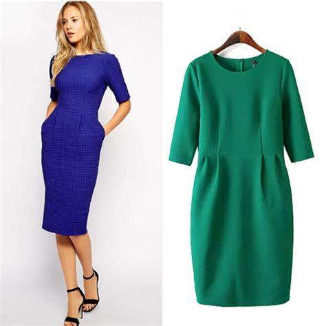 Leisure Dress office dress leisure bodycon midi dresses
