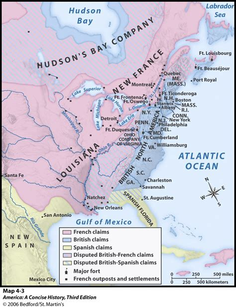 pattern of french settlement in north america maps charts graphs