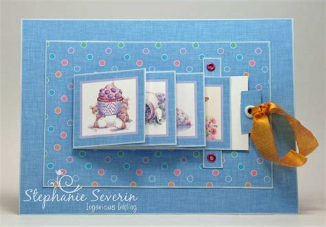 tutorial waterfall card waterfall card tutorial crafter s companion