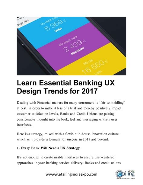 design trends for 2017 learn essential banking ux design trends for 2017