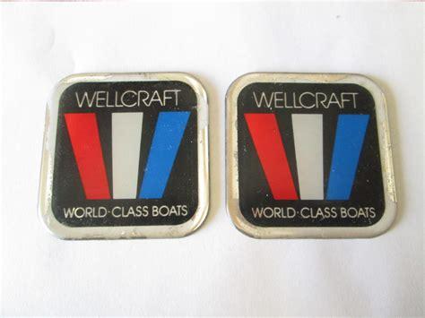 wellcraft logo emblem world class boats boat emblem - Wellcraft Boat Emblems