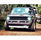 Maruti 800 SS80 Modified To Look Like VW Golf GTi Mk1