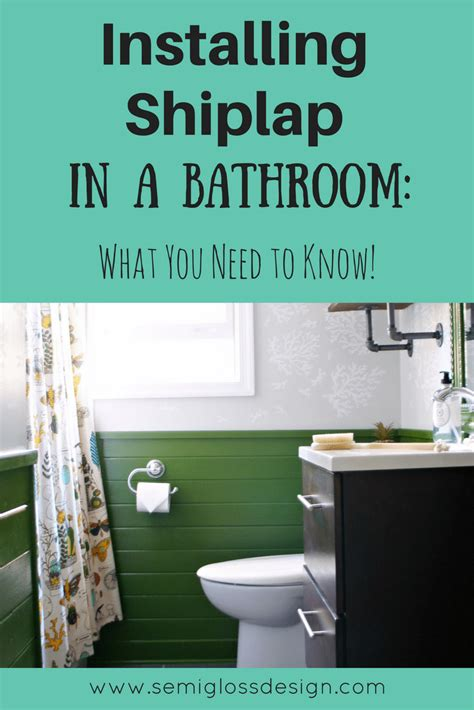 The Ultimate Guide to Installing Shiplap in a Bathroom