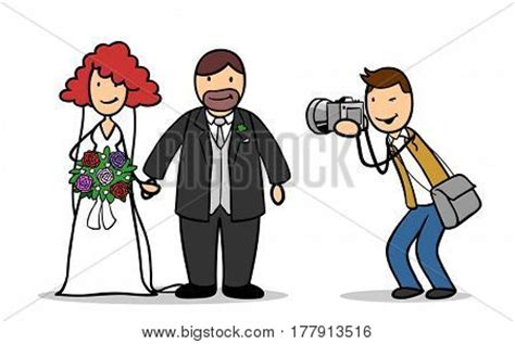 Taking Wedding Pictures by Wedding Photographer Taking Photos Of And