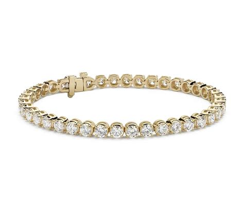 1 Ct Tw Tennis Bracelet by Tennis Bracelet 18k Yellow Gold 10 Ct Tw