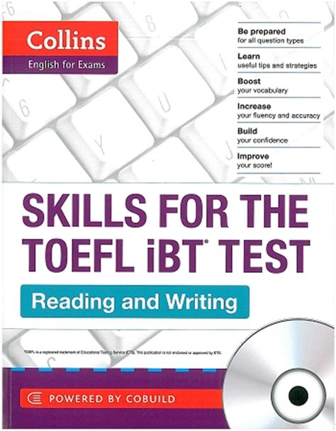 speaking and writing strategies for the toefl ibt books international books collins for exams skills for