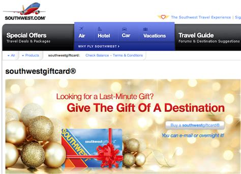 Where Can I Buy Southwest Airlines Gift Cards - 22 last minute gifts you can send by email