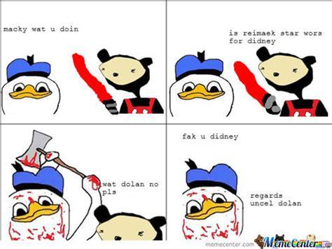Meme Dolan - dolan duck fak u