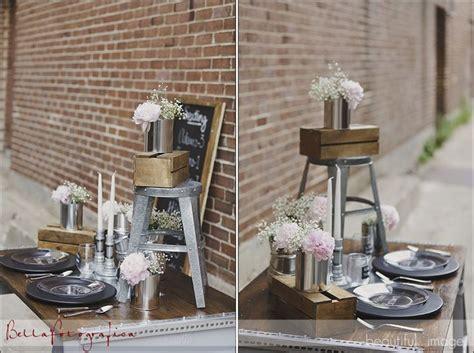 Industrial Wedding Decor by Industrial Wedding Ideas Wedding Ideas